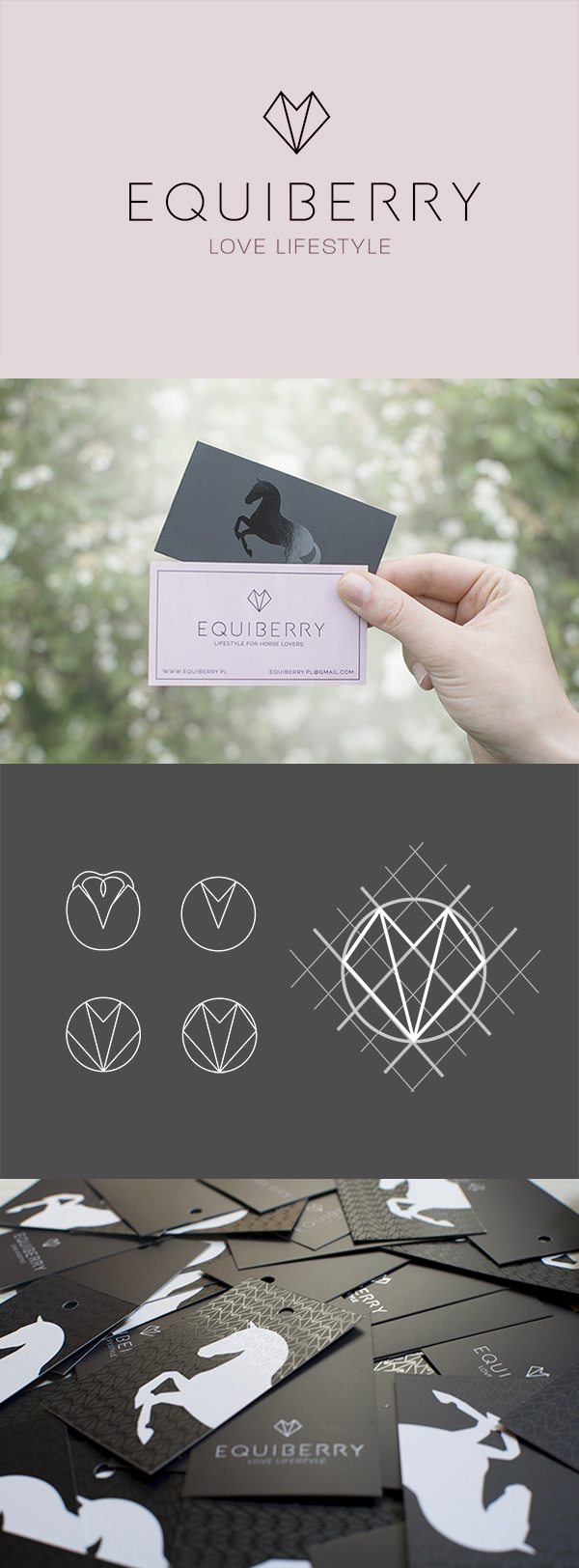 equiberry logo brand creation marka
